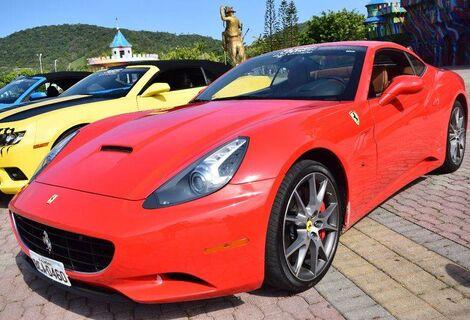 Carona de Ferrari no Super Carros / Beto Carrero