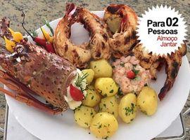 Lagosta Grelhada Restaurante Casa do Camarão