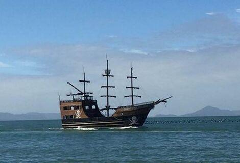 Ingresso Barco Pirata para Praia de Laranjeiras