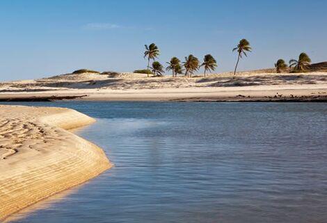 Passeio Praia de Águas Belas Ida e Volta Saída de Fortaleza