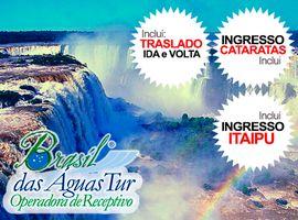 Pacote Catarata Brasileira + Itaipu + Ingressos