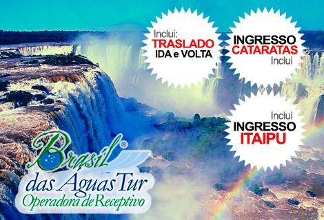 Pacote Catarata Brasileira/Argentina + Itaipu