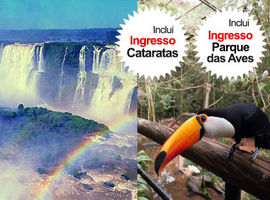 Pacote Catarata Brasileira + Parque das Aves