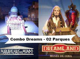 Combo Museu de Cera e Maravilhas do Mundo