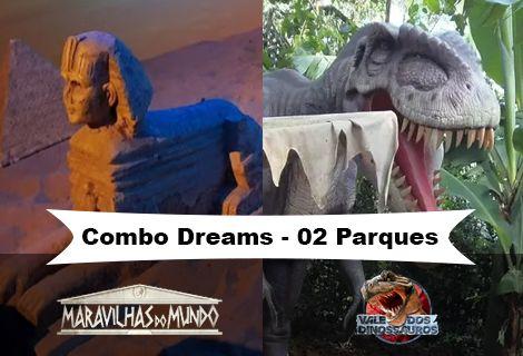 Combo Maravilhas do Mundo e Vale dos Dinossauros