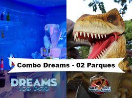 Combo Ice Bar e Vale dos Dinossauros