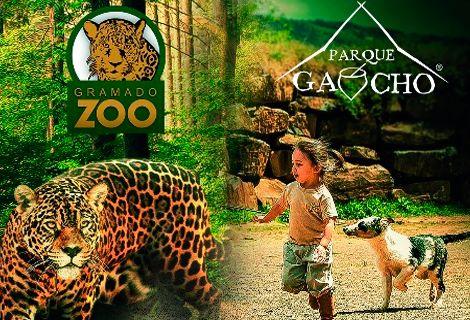 Ingresso Gramado Zoo e Parque Gaúcho