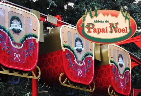 Ingresso Aldeia do Papai Noel Parque Temático