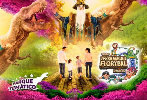 Ingresso Parque Terra Mágica Florybal - Fantástico !