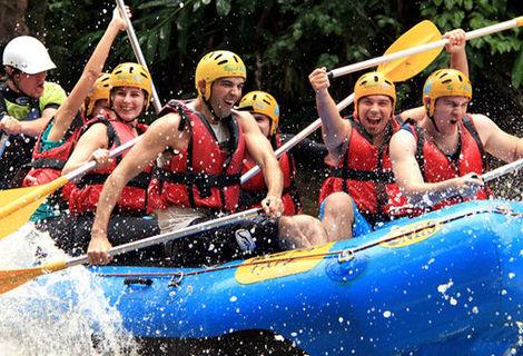 Rafting + Transfer de Hotéis de Gramado e Canela