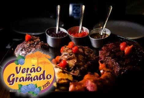 Parrilla Baita Steaks Borbulhas / Para 02 Pessoas.
