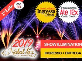 INGRESSO NATAL LUZ / SHOW DO LAGO: Entrega no Hotel