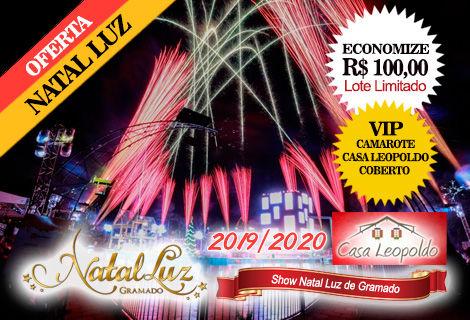 CAMAROTE / Espetáculo Show do Lago Natal Luz / Lote Limitado