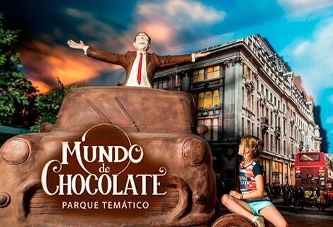 Mundo de Chocolate / Ingresso + Degustação Chocolate