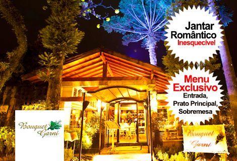 Jantar Romântico Restaurante Bouquet Garni