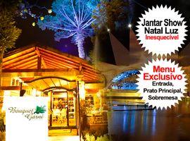 Jantar Show Natal / Restaurante Bouquet Garni / Menu