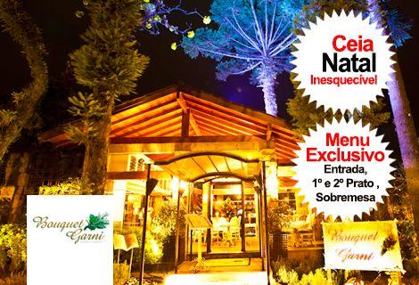Ceia de Natal 2018 Restaurante Bouquet Garni