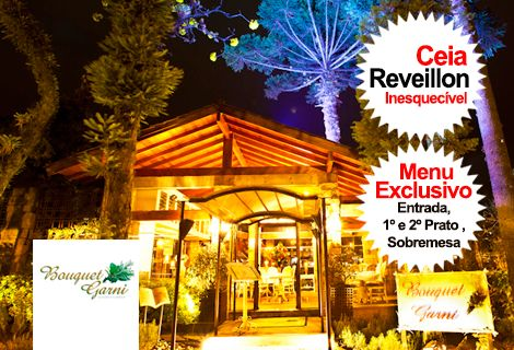 Ceia Reveillon 2018/2019 Restaurante Bouquet Garni