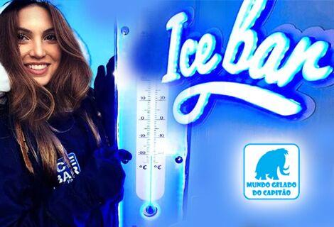 Ice Bar Parque Mundo Gelado + Casa do Capitão + 02 Drinks Cortesias