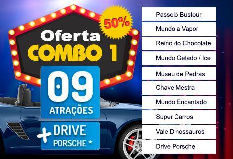 Gramado Pass - Combo 1 - 09 Parques + Drive de Porsche