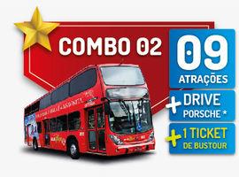 Gramado Pass-Combo 2 - 09 Parques + BusTour + Drive Porsche