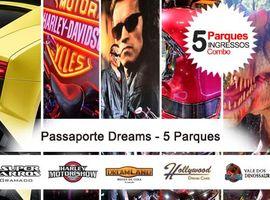 Museu de Cera + Harley + Super Carros + Hollywood + Dinoss.
