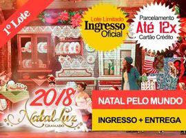 INGRESSO NATAL LUZ/NATAL PELO MUNDO: EXCLUSIVO SHOW 19 HORAS