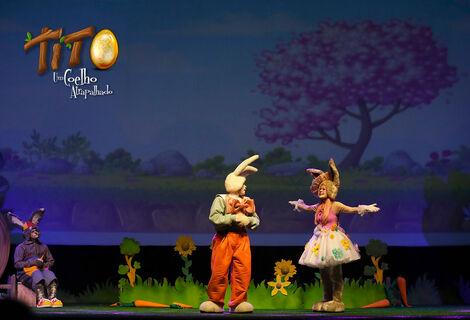 Tito, Um Coelho Atrapalhado!! Espetáculo de Páscoa!!