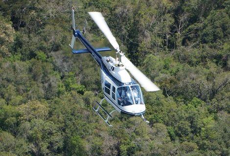 Passeio de Helicóptero Cascata Caracol e Gramado Incrível!!