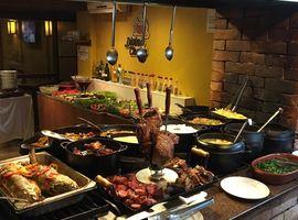 Buffet Livre de Comida Caseira Restaurante Divina Chapa