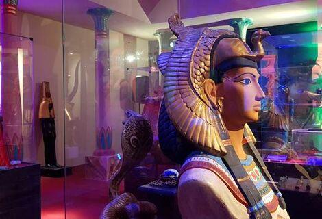 Ingresso Museu Egípcio Canela