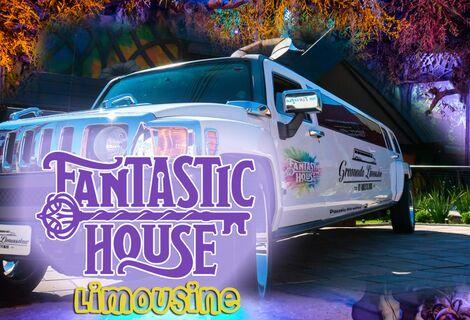 Limousine Fantastic House ! Nova Atração ! Um passeio dos Sonhos!