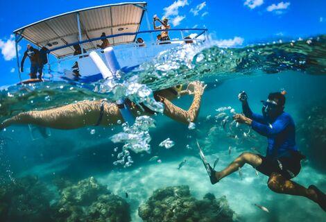 Maracajú com Catamarã e Snorkel