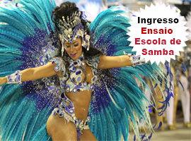 Ingresso Ensaio da Escola Samba Salgueiro - Rio de Janeiro