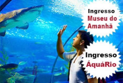 Ingressos AquáRio e Museu do Amanhã Imperdíveis