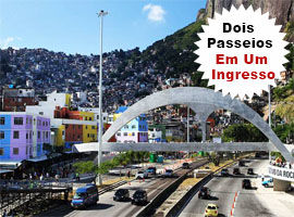 Passeio Favela da Rocinha + Floresta da Tijuca