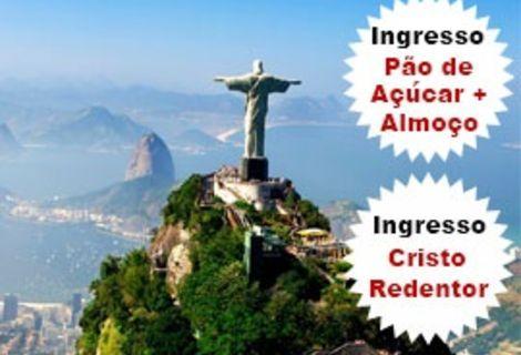 Passeio Um Dia no Rio de Janeiro / Cidade Maravilhosa