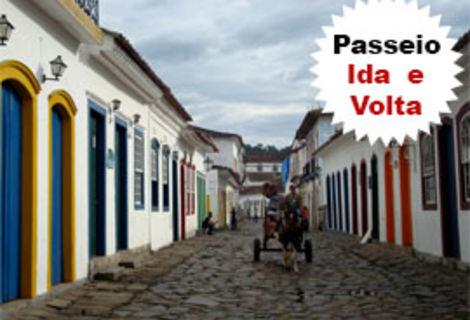 Passeio em Paraty / Saída do Rio de Janeiro Ida e Volta