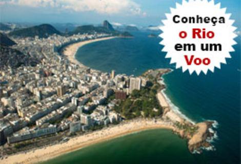 Passeio de Helicóptero Panorâmico Rio de Janeiro.