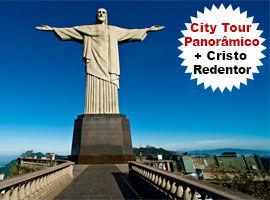 Ingresso Cristo Redentor + City Tour Rio de Janeiro