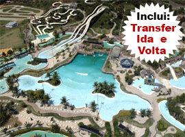 Ingresso Parque Aquático Rio Water Planet Ida e Volta