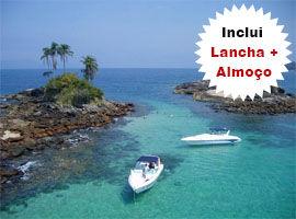 Tour de Lancha por Ilha Grande Saída de Angra